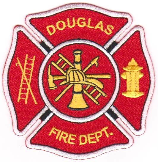 Douglas Fire Department Patch