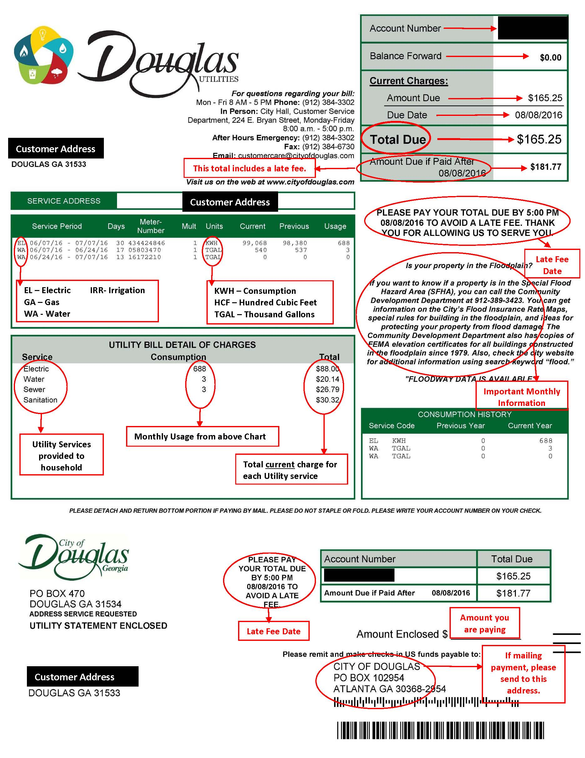 Utility Billing and Payments | Douglas, GA- Official Website