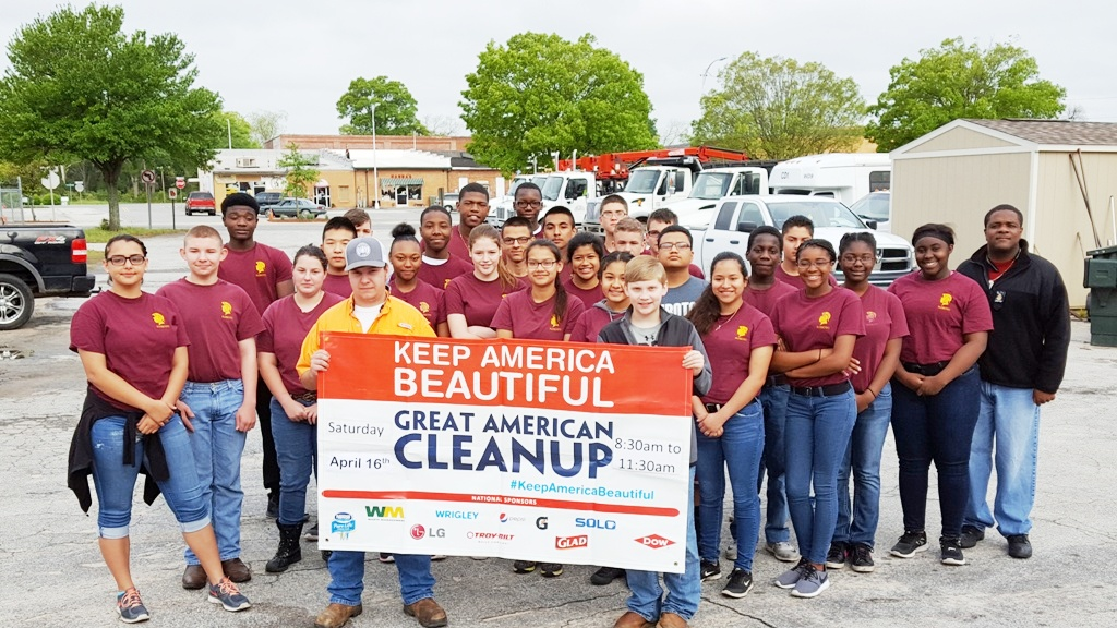 NJROTC Great American Cleanup
