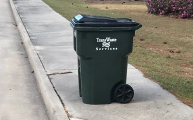 Correct Way to Place Trash Cart