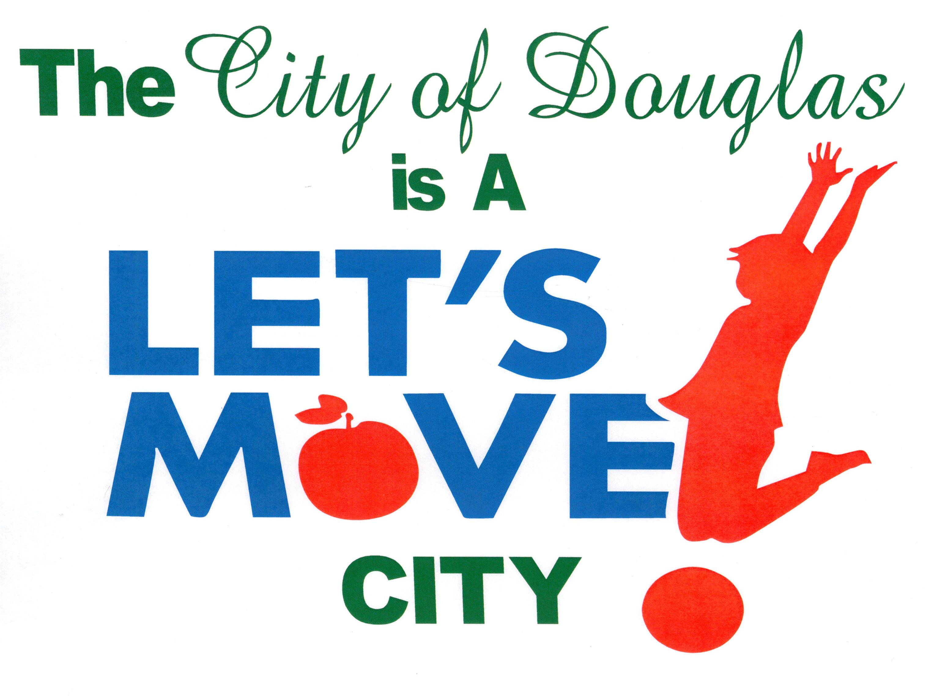 The City of Douglas is a Let's Move City