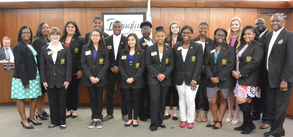 Mayors Youth Council Swearing In