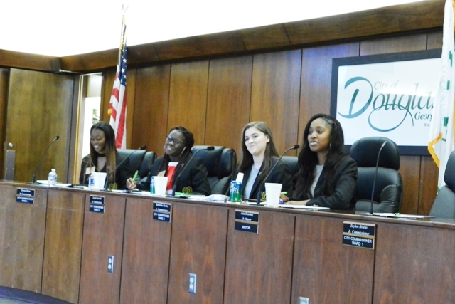 First Douglas Mayor's Youth Council Meeting