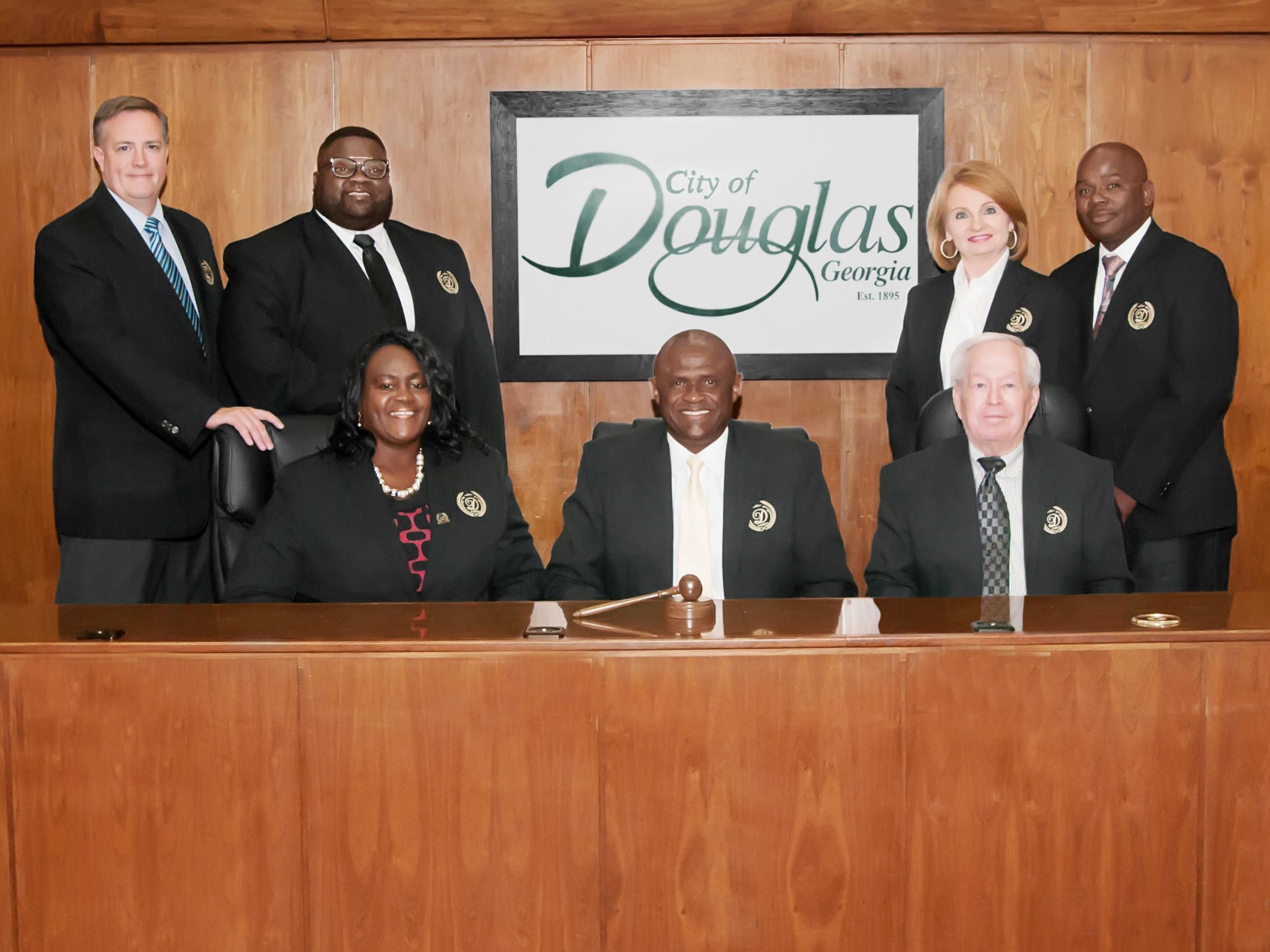 Photo of Mayor and City Commissioners
