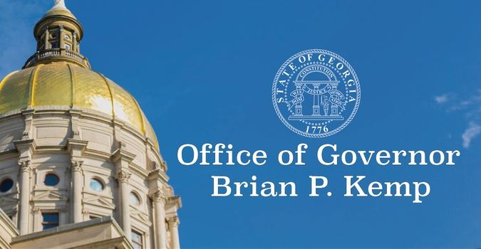 Office of Gov Kemp Graphic