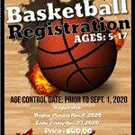 Basketball Registration