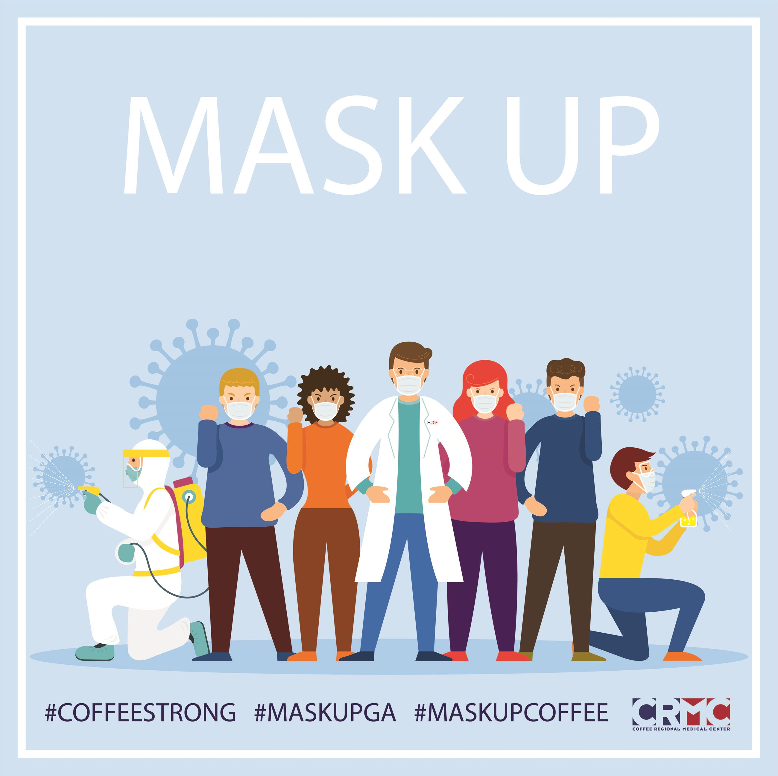 mask up image