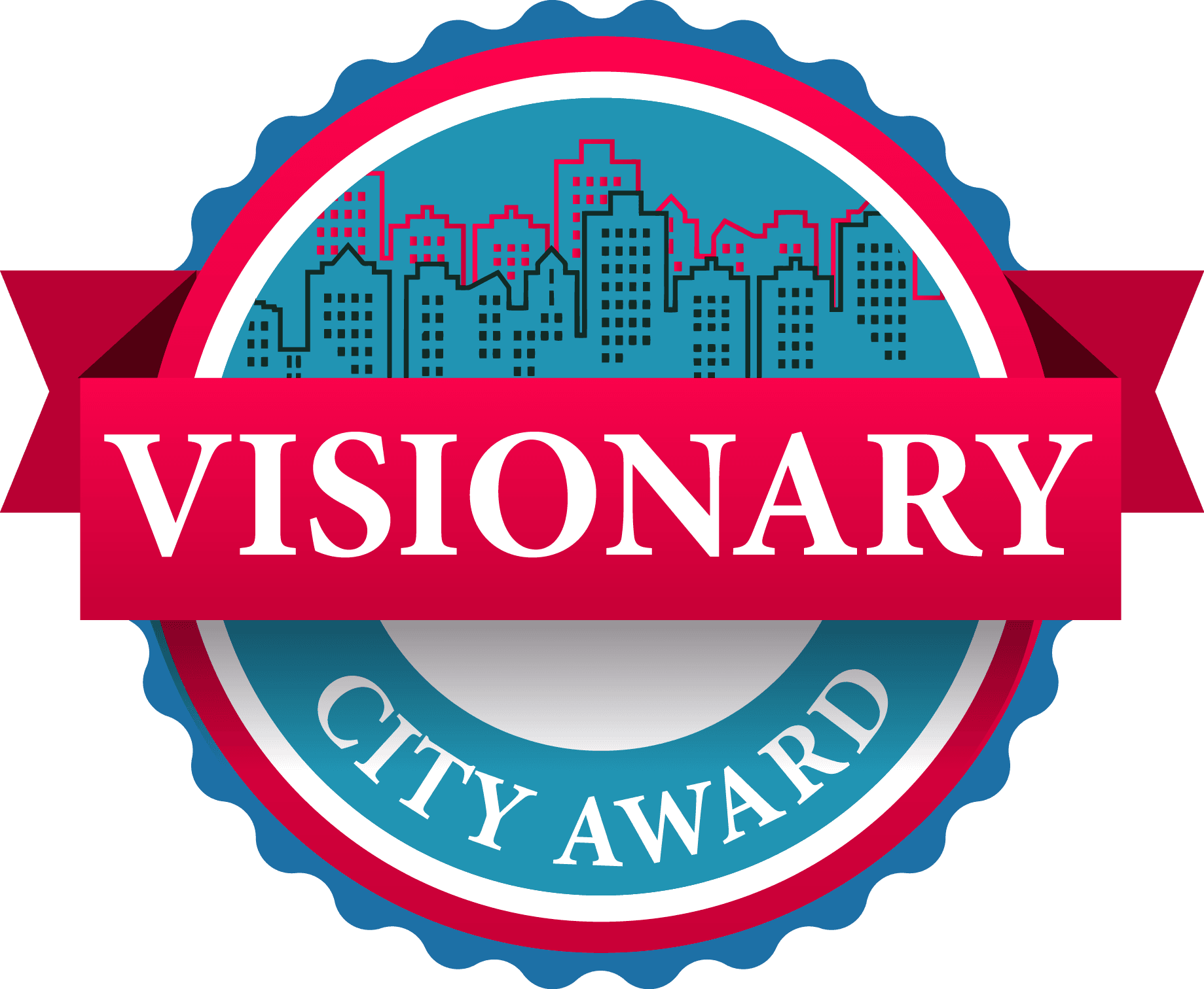 logo Visionary City Award