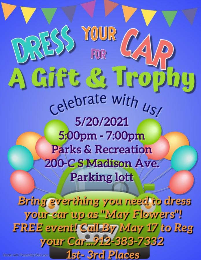 2021 Dress Your Car Up May Event