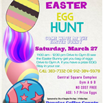 2021 Drive By Easter Egg Hunt