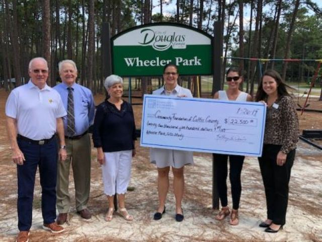 Wheeler Donation - Community Foundation