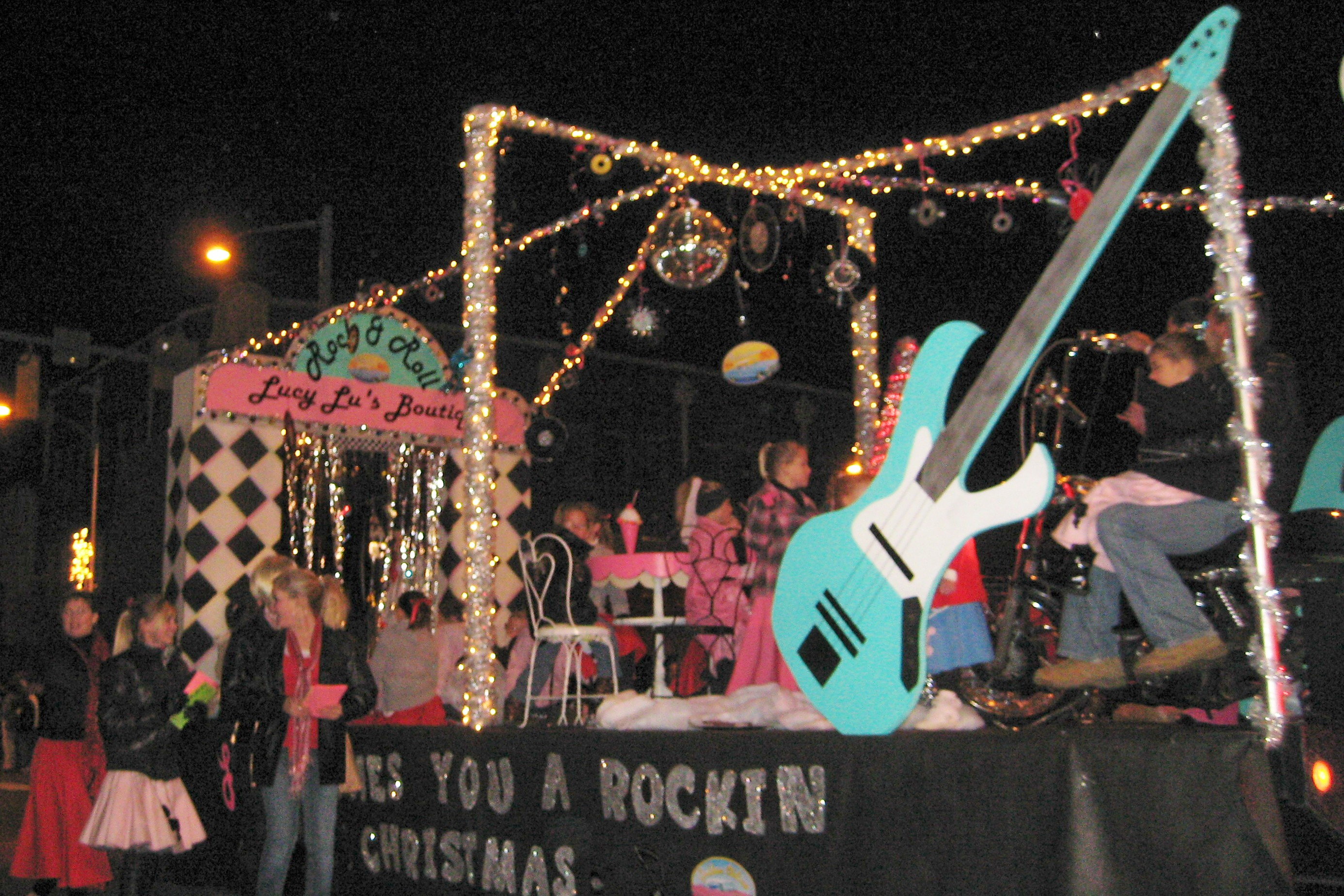 Entry in 2009 Festival of Lights Christmas Parade