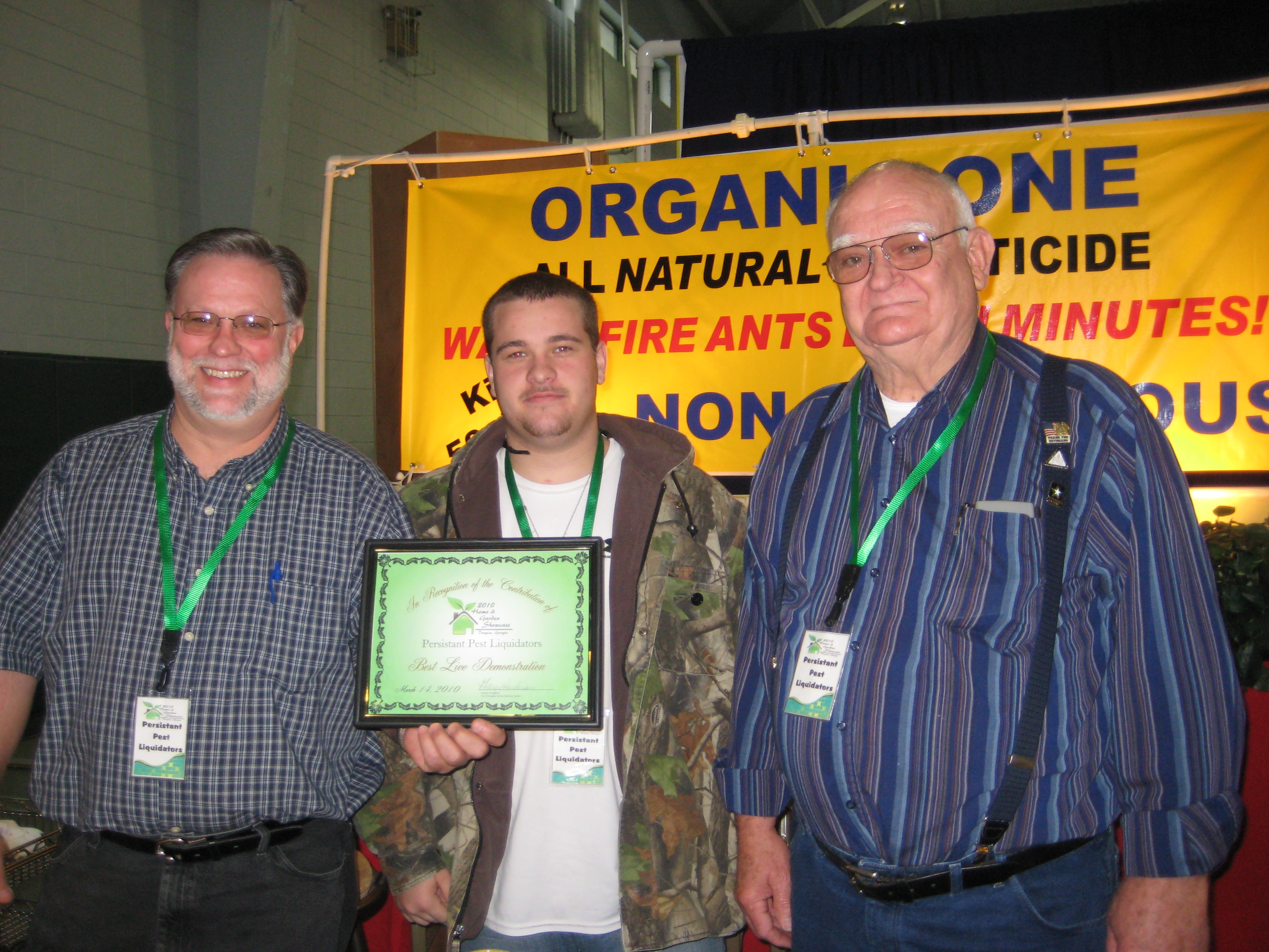 Home & Garden Showcase Award